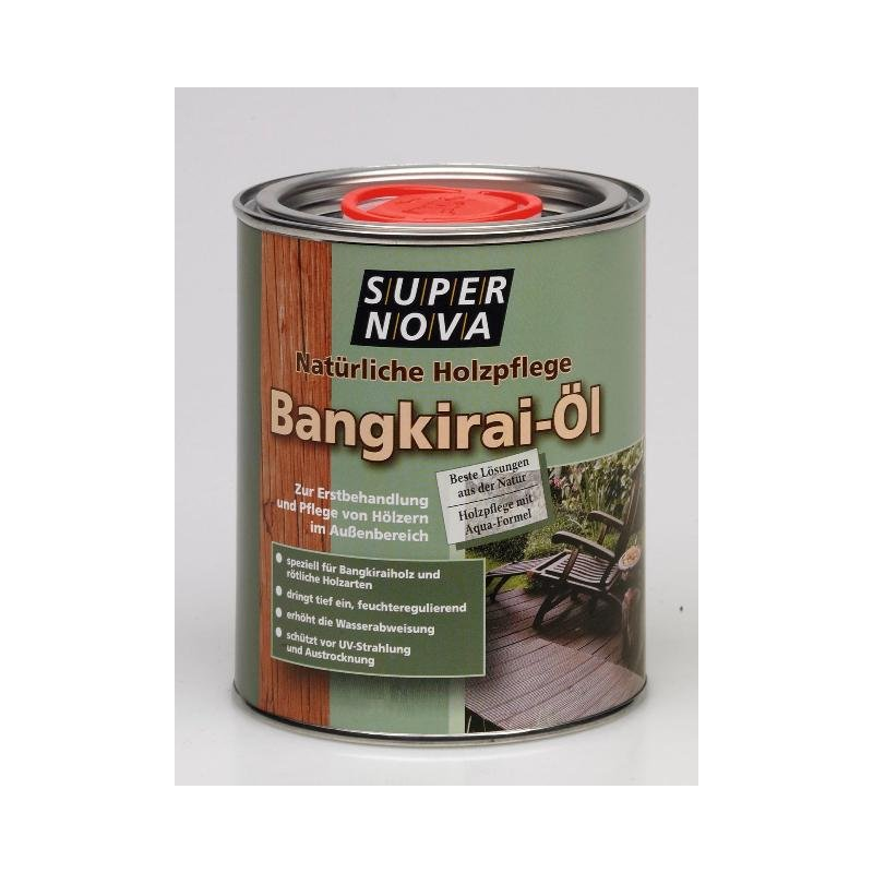 SuperNova Bangkirai Holzöl 2,5 Liter