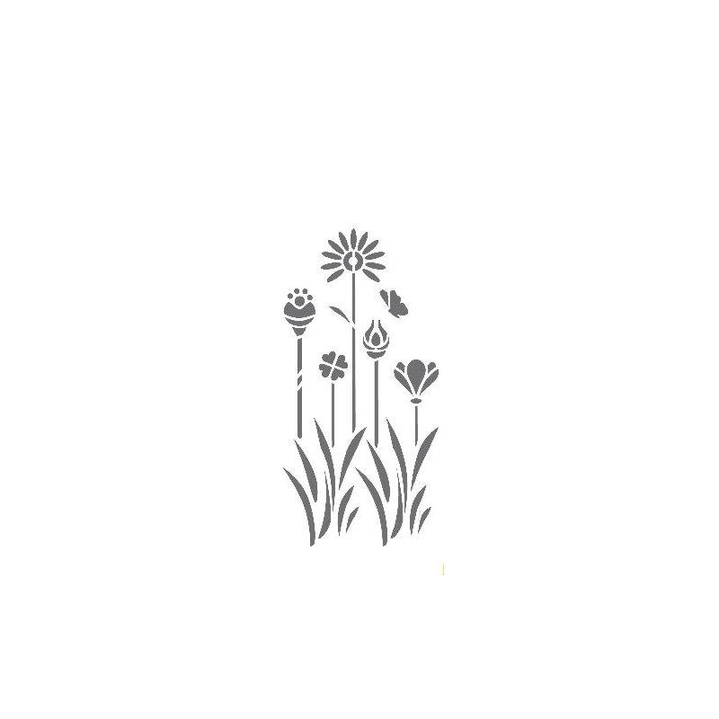 Dekor Schablone XL Motiv Flora XL 4