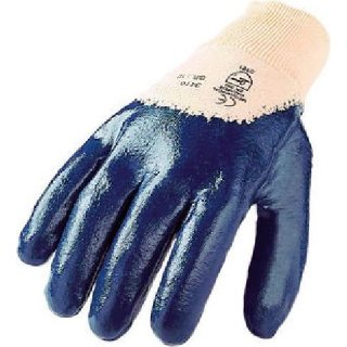 Nitril Schutzhandschuhe blau mit Strickbund 10 / XL