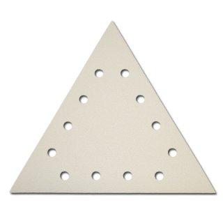 Indasa 12 Loch Schleifscheiben Dreiecke 290 x 290 x 290mm