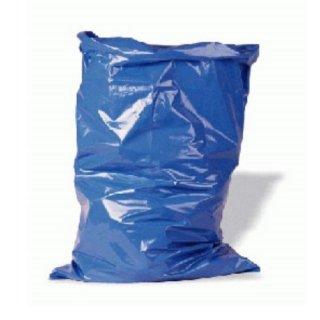 25 Zugbandsäcke / Müllsäcke LDPE ( Typ 60 blau )