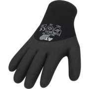 Winterhandschuhe mit schwarzer HPT-Beschichtung