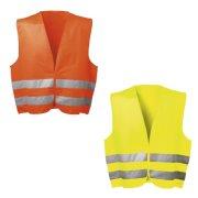 Warnweste mit Klettverschluss Warnschutzweste