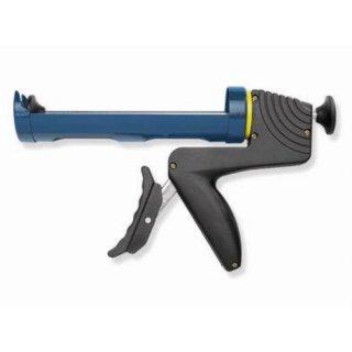 Kartuschenpistole blau / schwarz halboffen bis 310ml