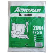 Abdeckfolie 4 x 5 m Abdeckplane 20 qm Malerfolie...