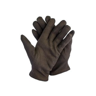 12 Paar Baumwollhandschuhe schwarz