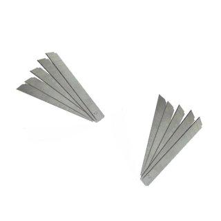 9mm Cuttermesser Ersatzklingen 10 Stück im Köcher