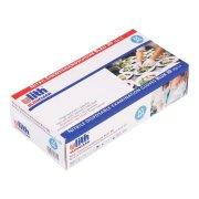 100 Stück Nitrilhandschuhe Einweghandschuhe blau