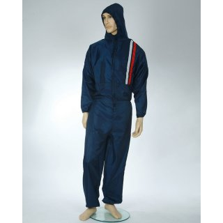 Mehrweg Lackieroverall Polyester Anzug blau waschbar