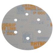 50 x Exzenter Klett-Schleifscheiben 6-Loch Korn 40-600