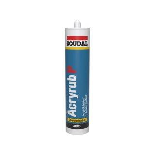 Soudal Acryl Dichtmasse Maleracryl weiß 310ml