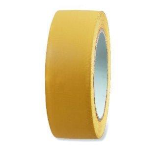 Putzerband PVC 50mm, gelb quergerillt