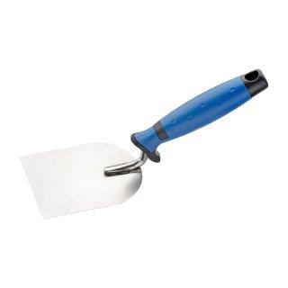 Stukkateurspachtel 80, 100 oder 120mm Softgriff blau