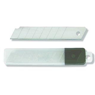 Cuttermesser-Klingen - 1x Köcher - 10 Stück 18mm