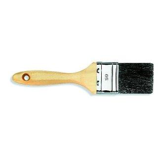 Flachpinsel Stärke 9 schwarze Chinaborste 40-70mm