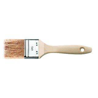 Flachpinsel Malerpinsel 6.Stärke Naturborsten-Mix