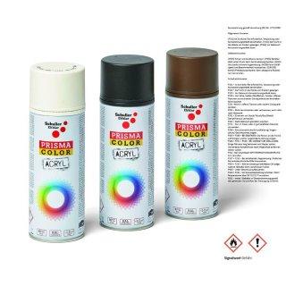 Prisma Lackspray Spraydosen RAL Farbtöne Matt 400ml