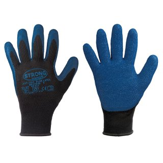 Arbeitshandschuhe Winterhandschuhe Blue Latex nahtlos