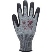 Schnittschutz-Handschuhe Arbeitshandschuhe grau Stufe 5