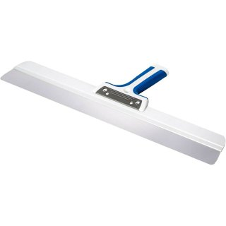 Flächenspachtel Rakel-Softgriff blau rostfrei 250-800mm