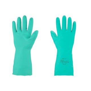 Nitrilhandschuhe Chemikalienschutz Handschuhe grün