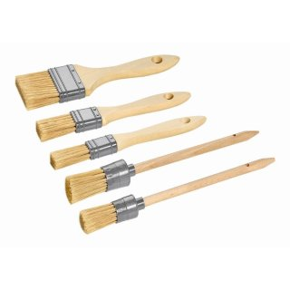 Maler Flachpinsel Ringpinsel Set, 6-teilig