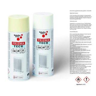 Prisma Heizkörperlack Lackspray Radiator weiß 400ml