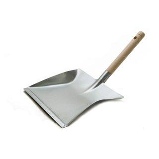 Kehrschaufel Kehrblech Metall verzinkt mit Holzgriff