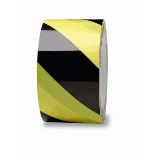 Absperrband Sperrband Signalband Warnband schwarz-gelb
