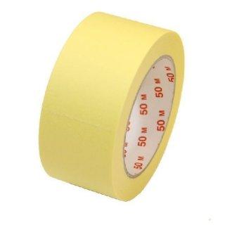 Heimwerker Abklebeband Abdeckband 50mm x 50m gelblich