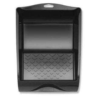 Farbwanne Kunststoff schwarz 26cm x 32cm