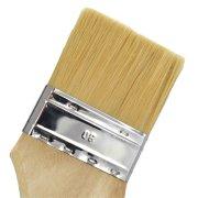 Fassadenpinsel, Stärke 9, 80cm Holzstiel Breite 80mm