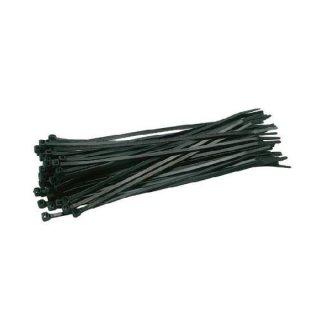 50 Kabelbinder 4,7 x 250mm weiß oder schwarz